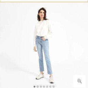 Everlane 27 reg high waisted cheeky straight jeans